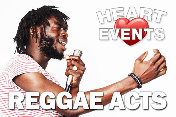 Reggae singers, Reggae bands and Reggae tribute acts are always a very popular choice, especially in The Midlands