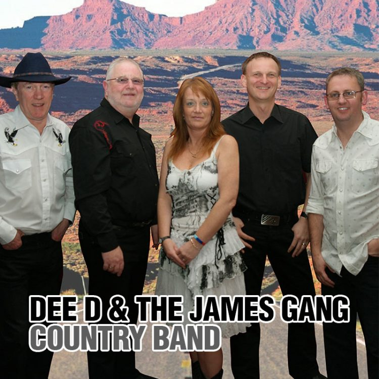 DEE D and THE JAMES GANG Country Band