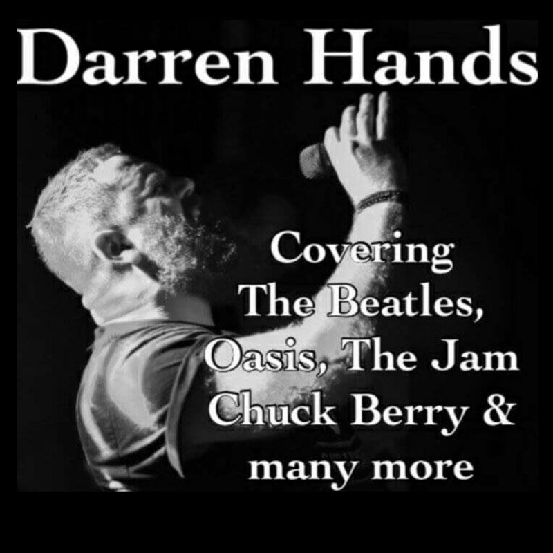Darren Hands - Solo Vocalist