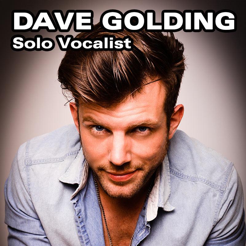 Dave Golding - Solo Vocalist