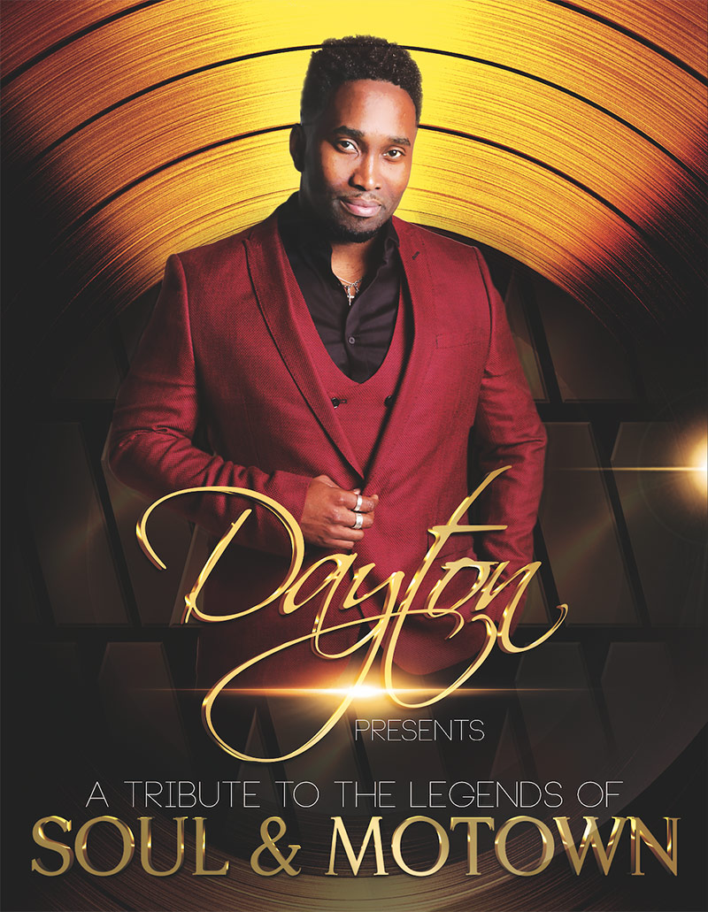 Dayton - a tribute to the legends of Soul and Motown