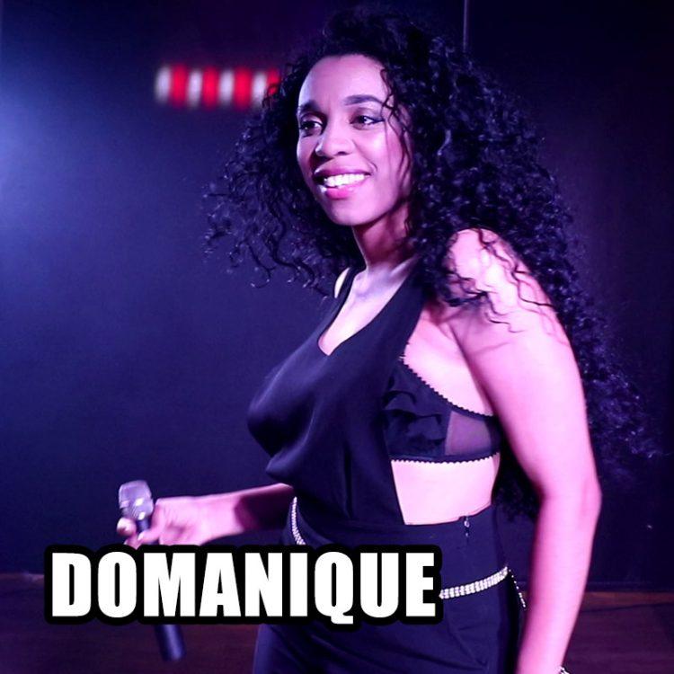 Domanique - female solo vocalist