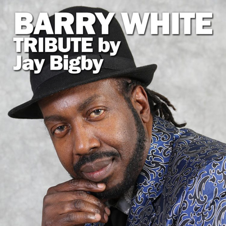 Barry White tribute - Jay Bigby