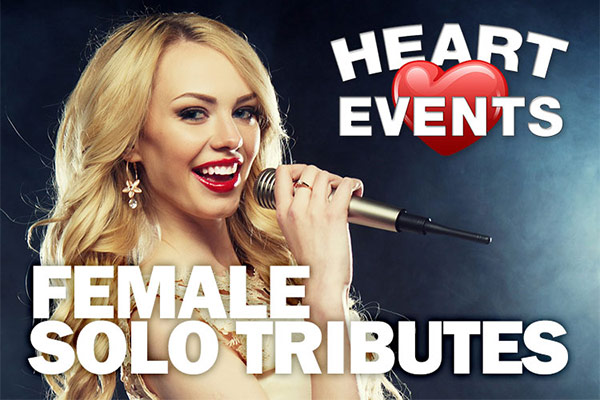 Hire a Female Solo Tribute - female singers Birmingham Midlands