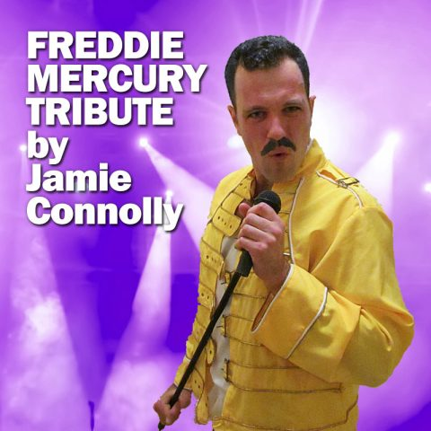 Freddie Mercury Tribute by Jamie Connolly