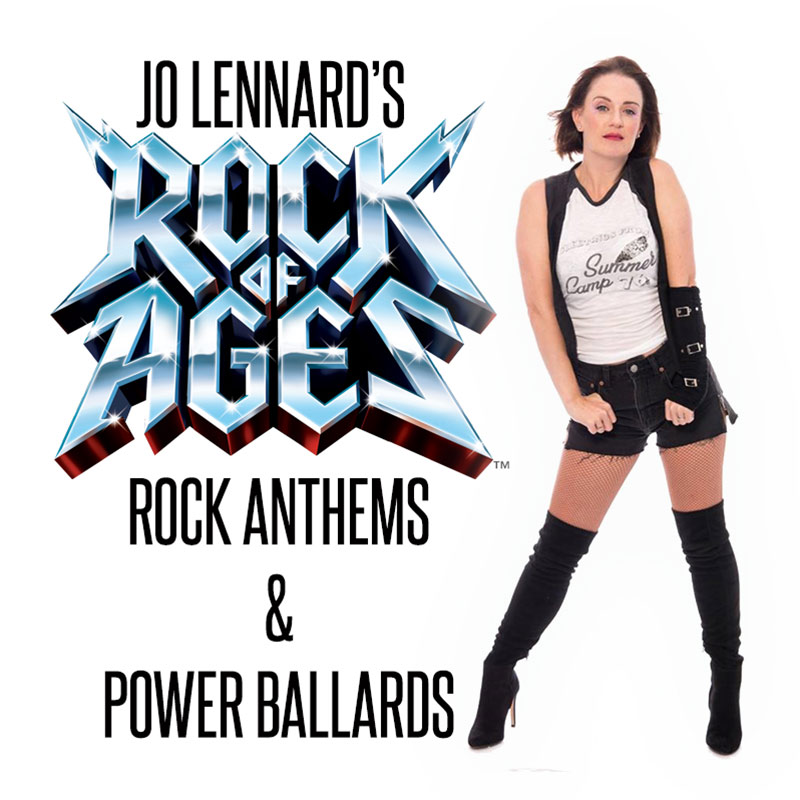 ROCK OF AGES by Jo Lennard