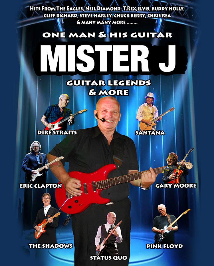 Mister J - guitar vocalist