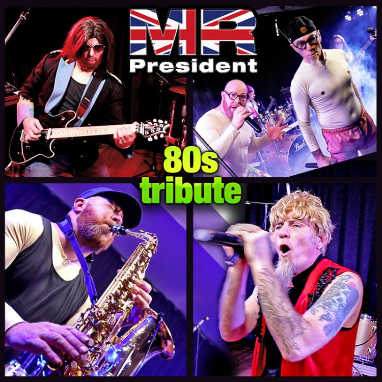 Mr President - 80s party band / duo