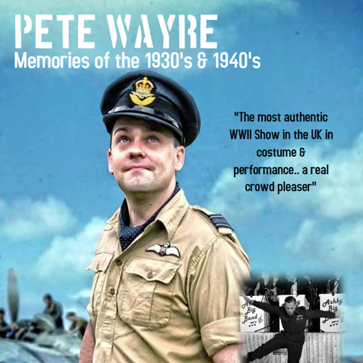 Pete Wayre - 30s and 40s Singer