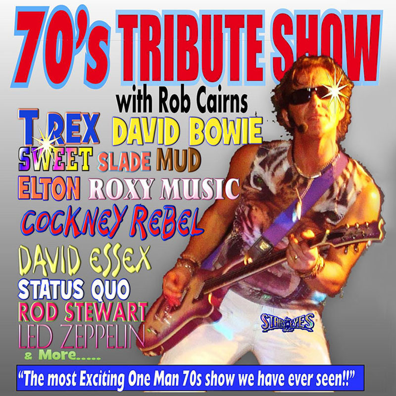 Rob Cairns Solo 70s Show