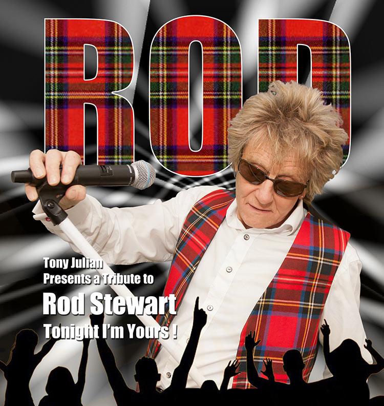 Rod Stewart Tribute by Tony Julian