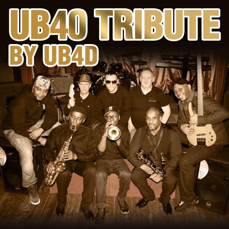 Hire a UB40 Tribute Band - UB4D - Midlands