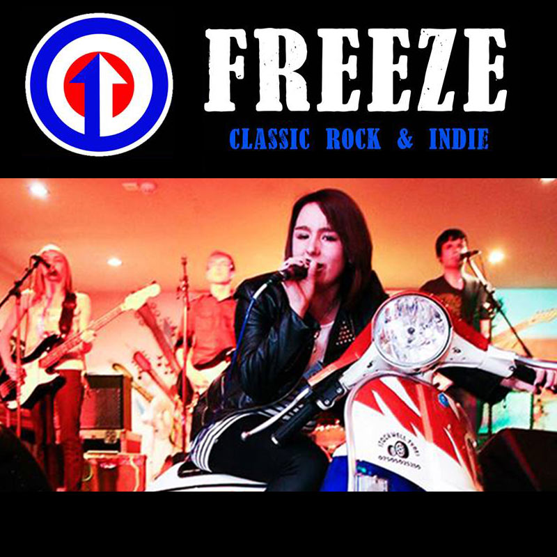 freeze - classic rock and indie covers band