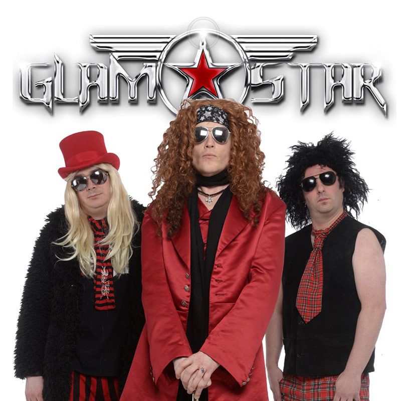 GlamStar 70s & 80s Glam Rock Party Band