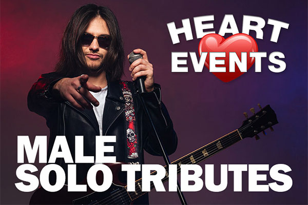 Male Solo Tribute acts