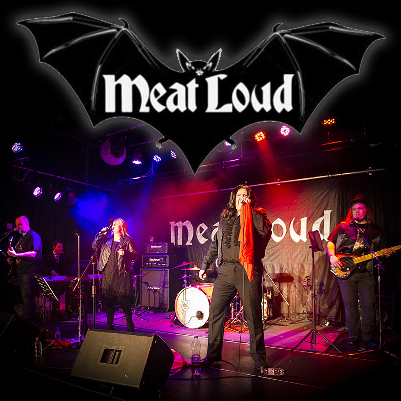 MEAT LOUD - The Meat Loaf Tribute show is available as a 7 piece live band to book throughout The Midlands