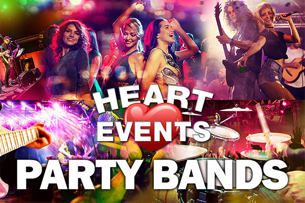Live Music - Hire a Party Band Birmingham East and West Midlands UK's best Party Band Agent.
