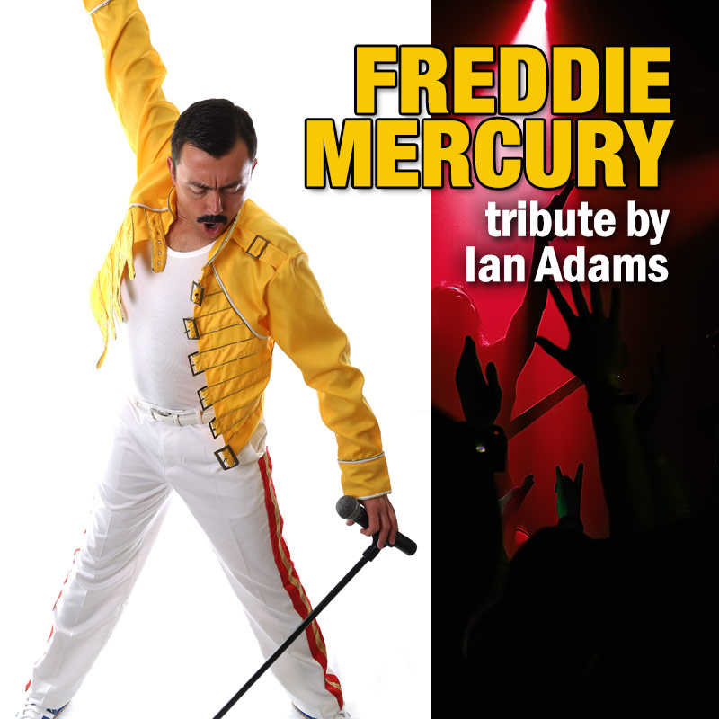 Freddie Mercury tribute by Ian Adams