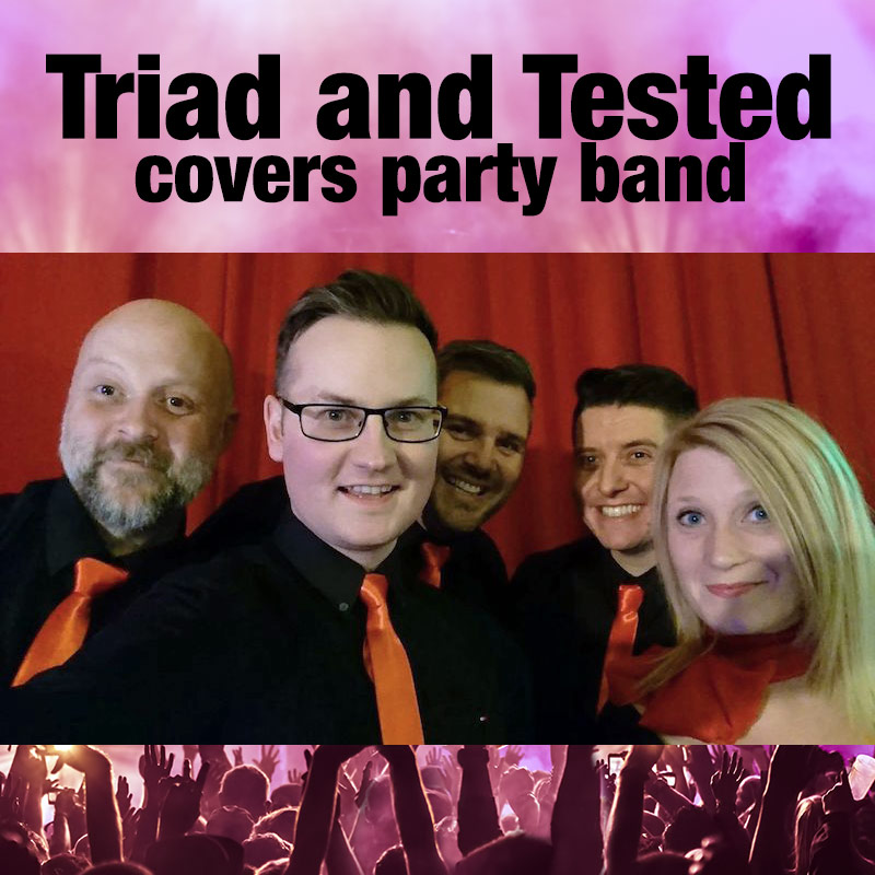 Triad and Tested Party Band Covers band