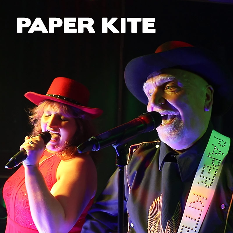 Paper Kite band singers duo midlands