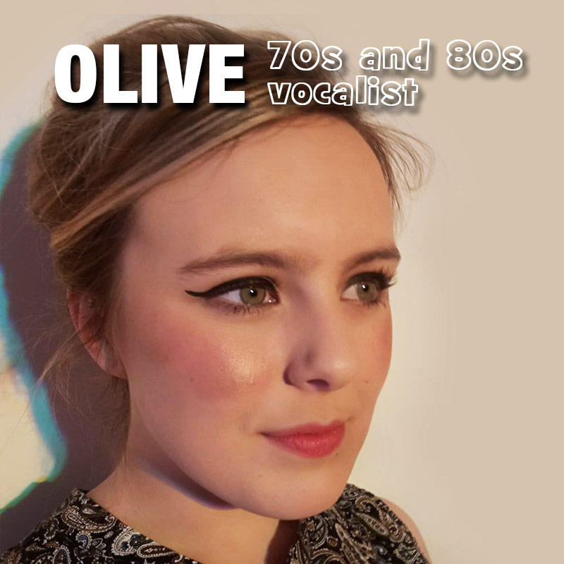 Olive P - female solo vocalist