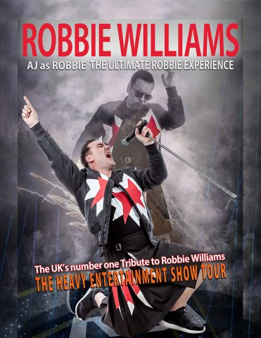 Robbie Williams tribute by AJ
