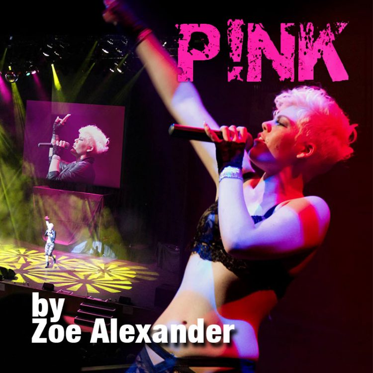 Pink tribute by Zoe Alexander