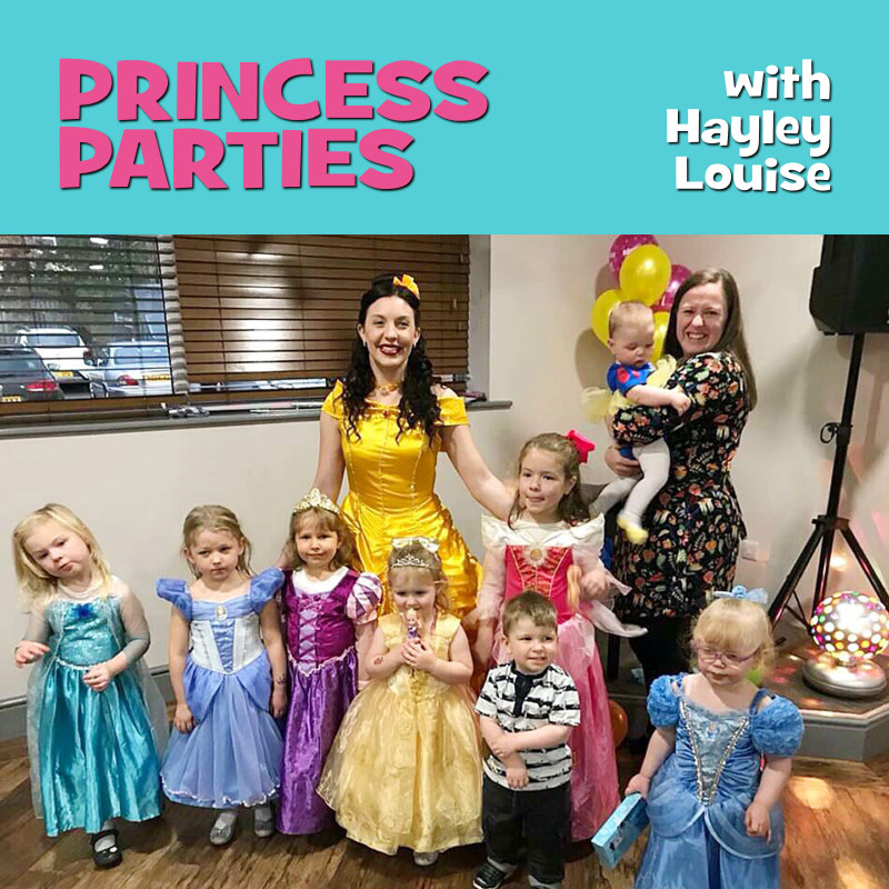 Princess Parties - Hayley Louise