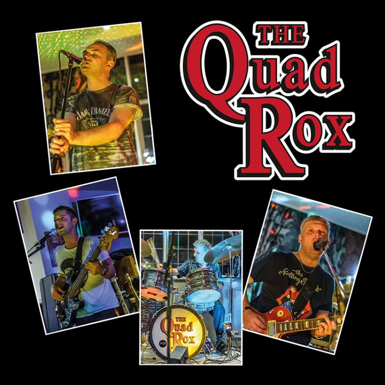 The Quad Rox covers band