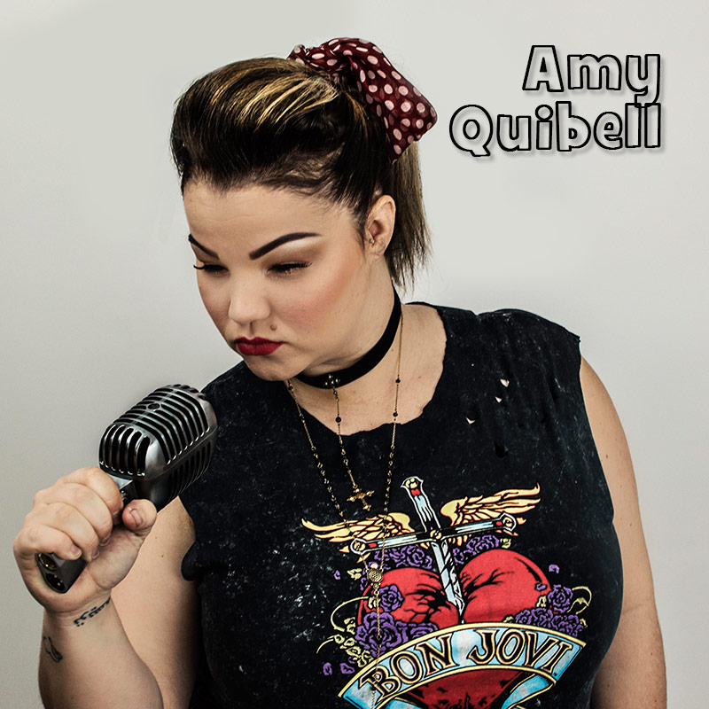 Amy Quibell - solo vocalist