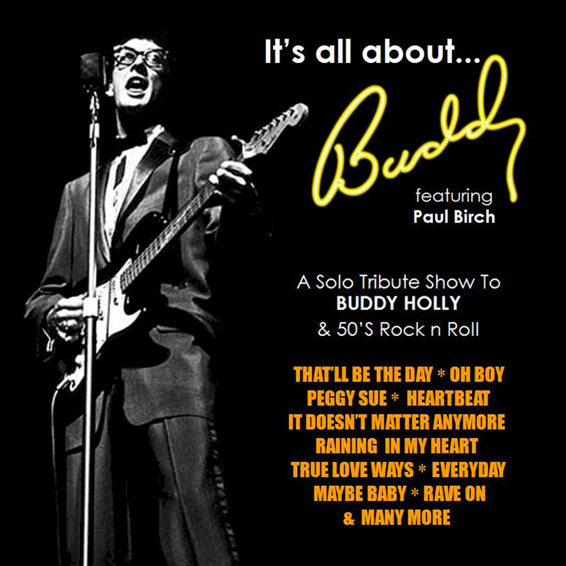 Buddy Holly tribute - Paul Birch