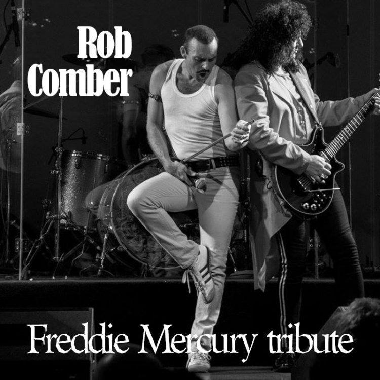 Rob Comber - Freddie Mercury tribute