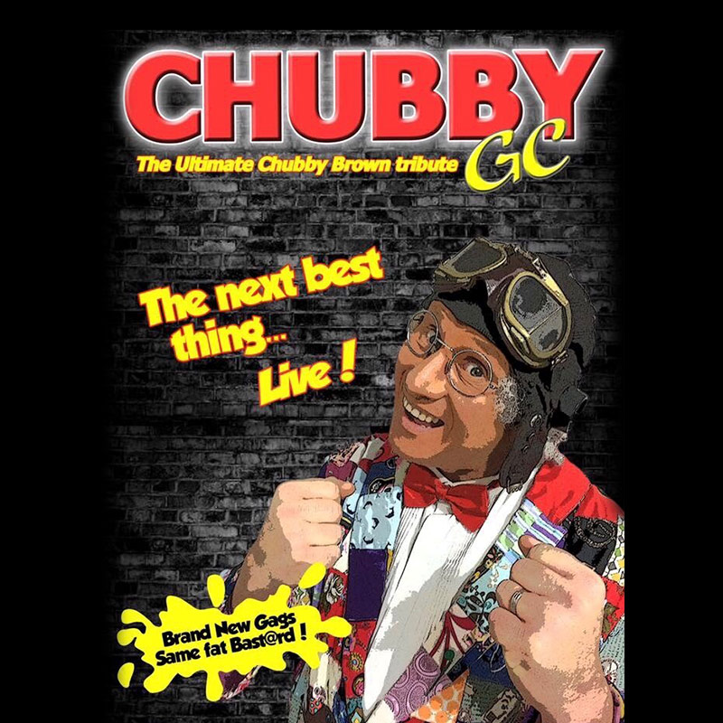 Chubby Brown tribute Gary Gobstopper Comedian