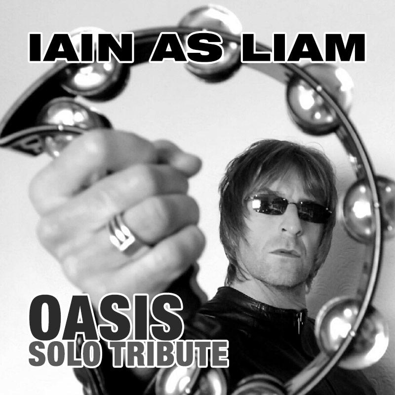 Iain as Liam - Oasis solo tribute