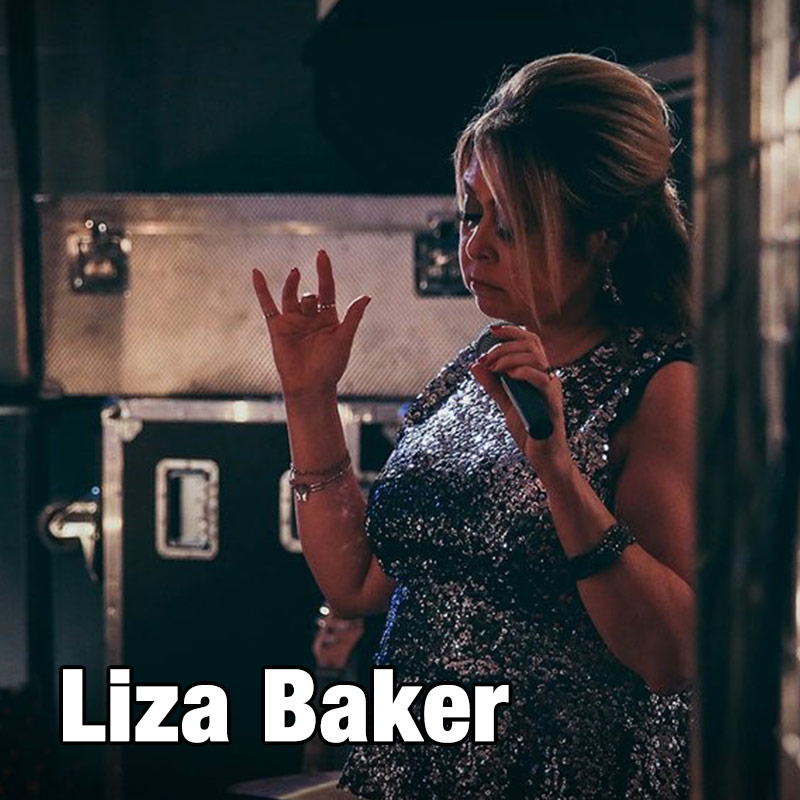 Liza Baker - female solo vocalist