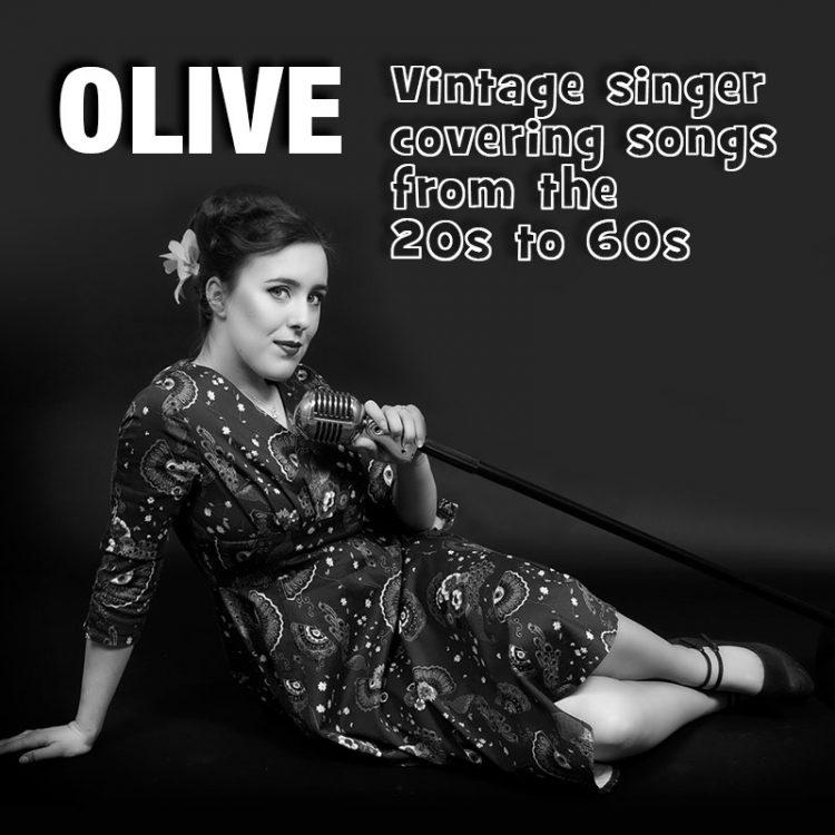 Olive - Vintage Singer