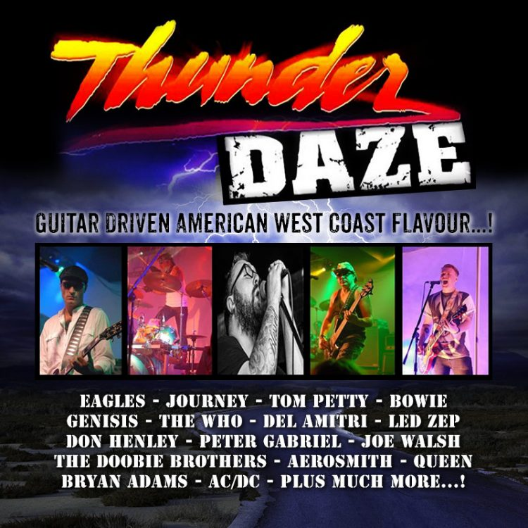 Thunder Daze rock band