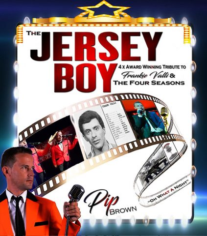 The Jersey Boy tribute by Pip Brown