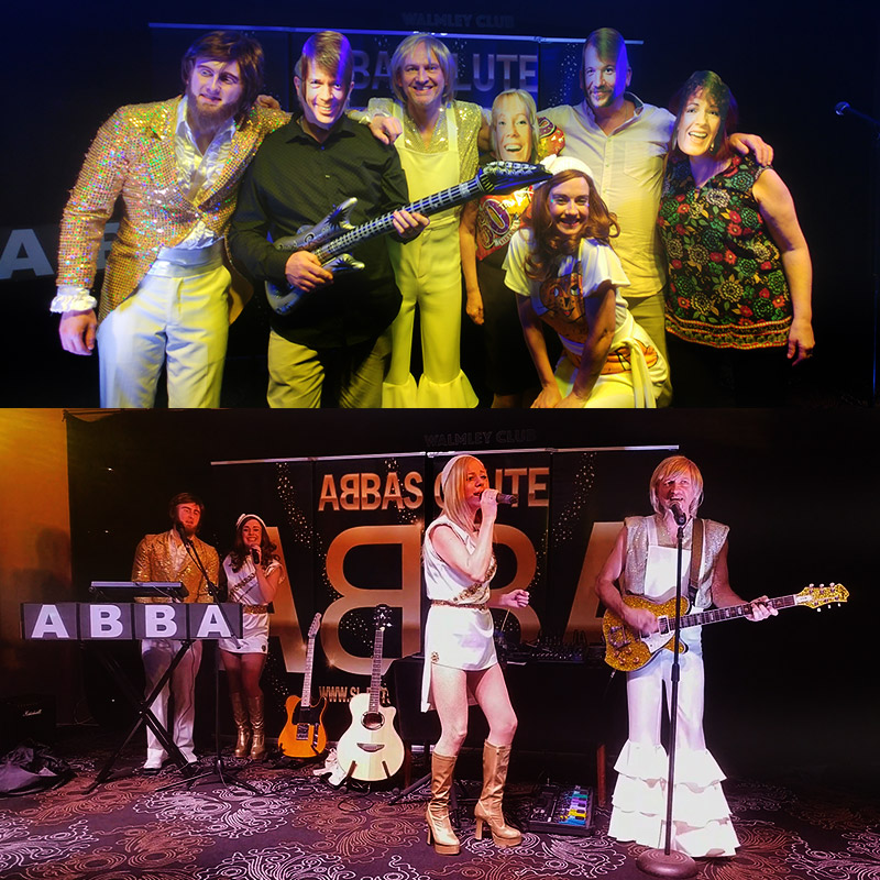 Abba Tribute - Abbasolute band