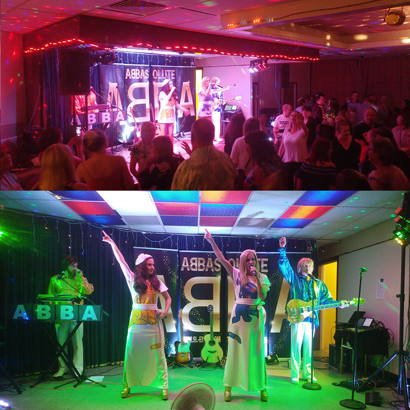 Abba Tribute - Abbasolute band 2