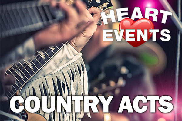 country acts country music bands Midlands