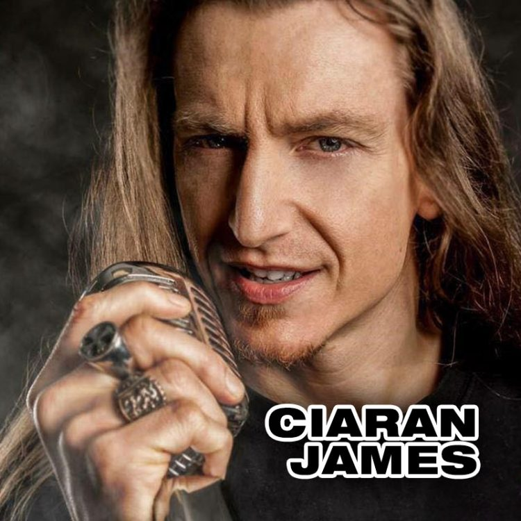Ciaran James - solo vocalist