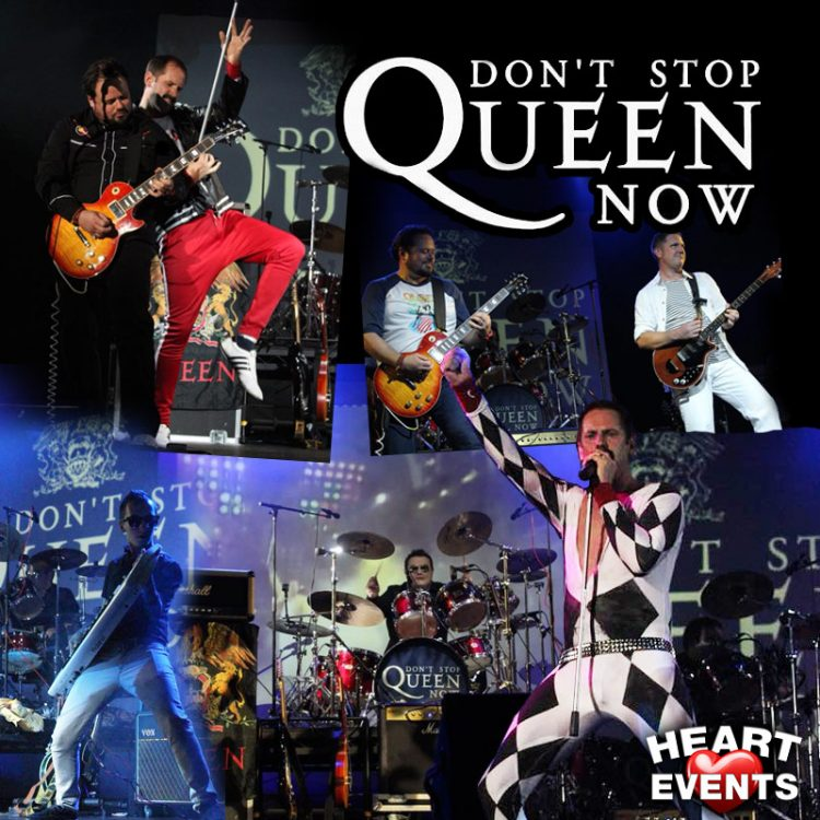 Don't Stop Queen Now - Queen tribute
