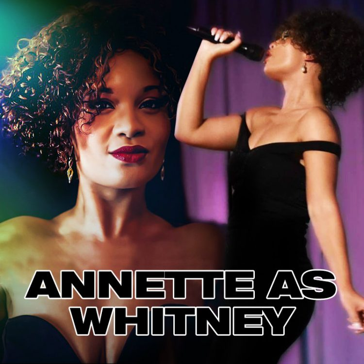 Whitney Houston tribute by Annette