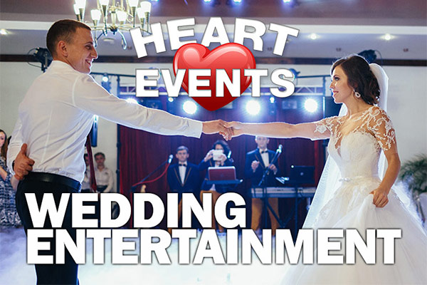 Wedding Entertainment | Heart Events Midlands Birmingham