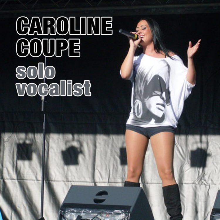 Caroline Coupe - solo vocalist