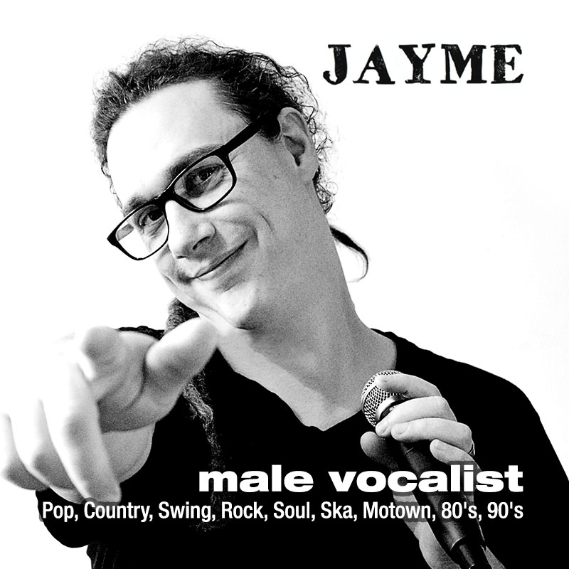 Jayme - male vocalist