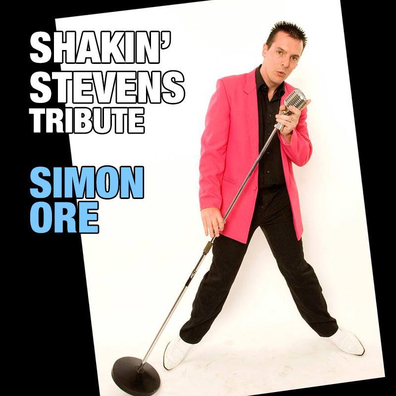Shakin' Stevens tribute - Simon Ore
