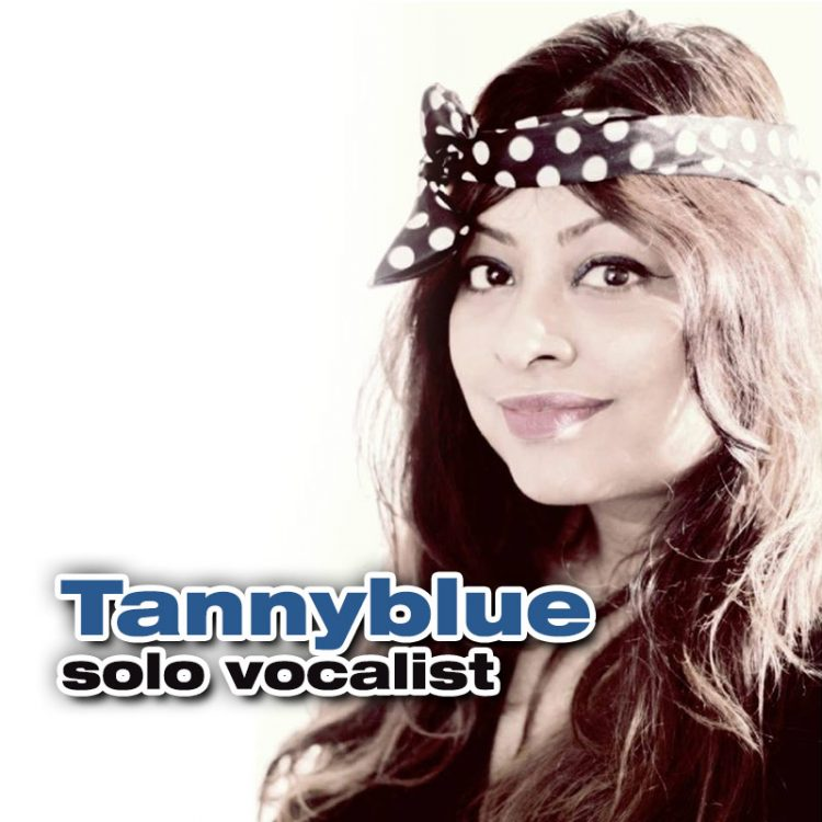 Tannyblue - female solo vocalist