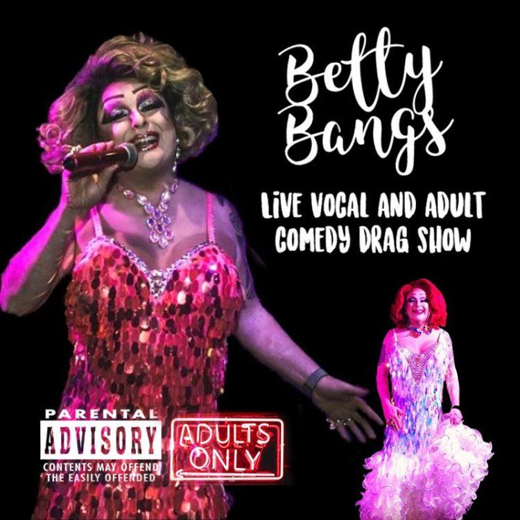 Betty Bangs - music comedy drag